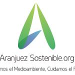 Logo de Aranjuez Sostenible.org con el lema Cuidamos el Medioambiente, Cuidamos el Futuro
